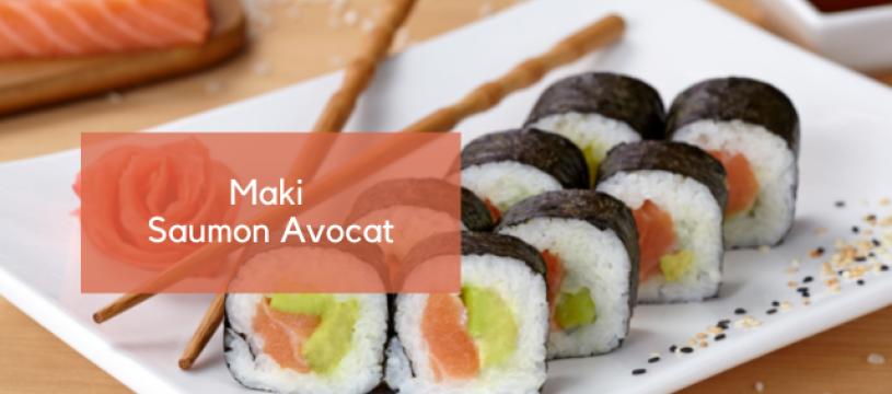 Maki Saumon Avocat