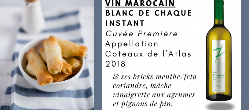 Un accord mets & vin, simple et original !